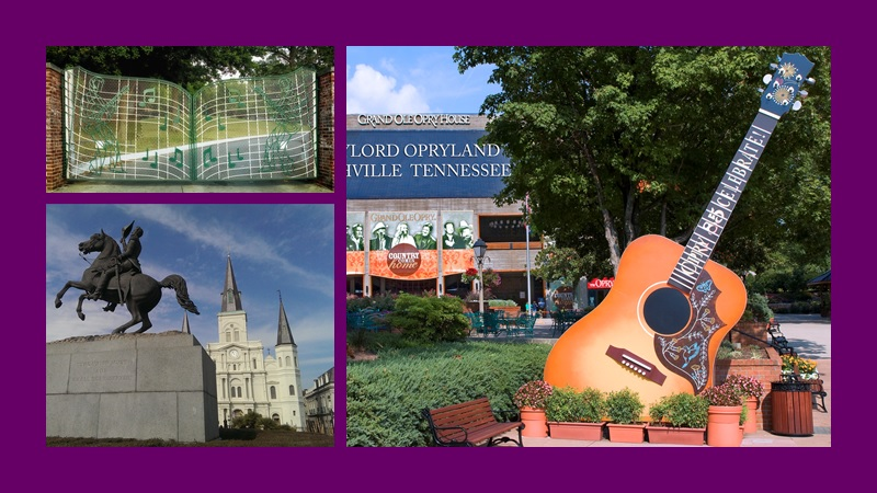 Experience the South Through a Musical Journey
